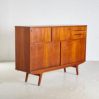 Danish Mid Century Teak Sideboard 1960s For Sale At Pamono