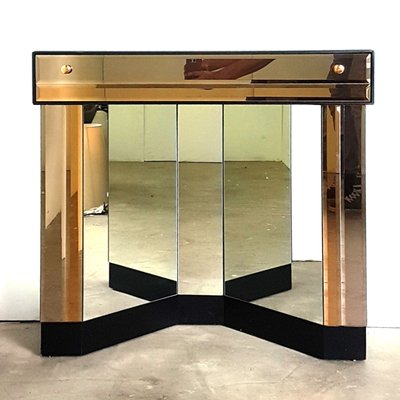 Mirrored Console Table Illuminated Wall Mirror