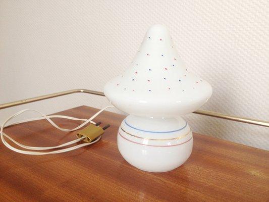 Charmant Petite Lampe Champignon Vintage, 1960s 1