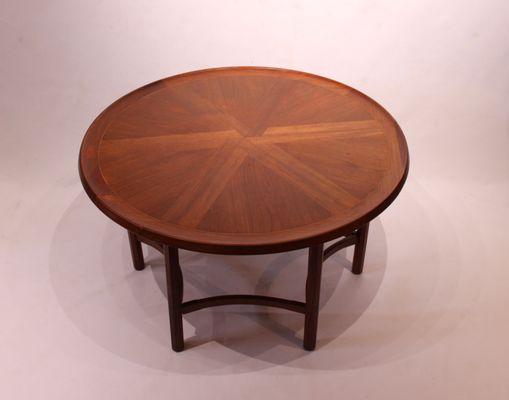 site réputé ab358 48d94 Table Basse Ronde en Teck, Danemark, 1960s