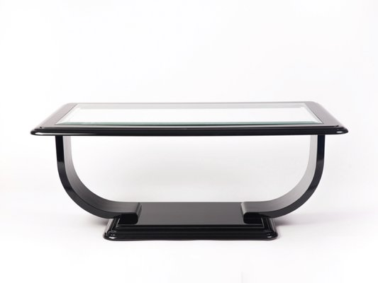 Square Glass Top Coffee Table 1940s For Sale At Pamono