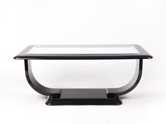 Table Basse Carree Verre.Table Basse Carree Avec Plateau En Verre 1940s