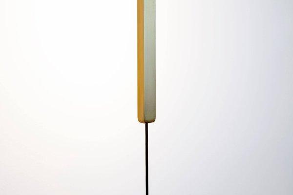 Lampada da terra d aria corrente in ottone di morghen studio