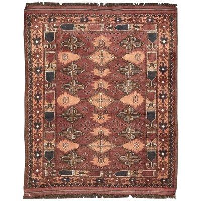 Vintage Afghan Rug 1