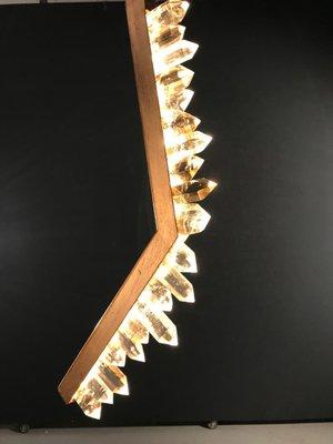 White Quartz Table Lamp by Waldir Junior