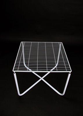 Postmoderner weißer Jarpen Tisch von Niels Gammelgaard für