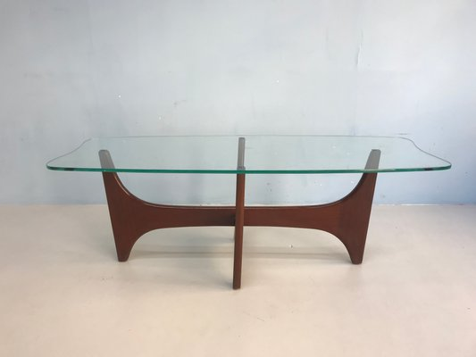 Glass Coffee Table Vintage 9