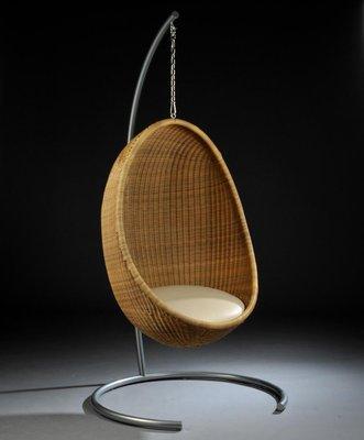 Vintage Hanging Egg Chair Nanna Ditzel 1