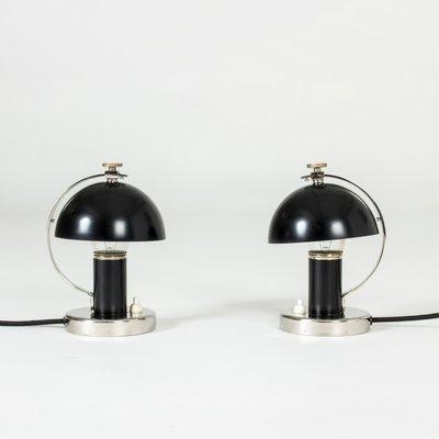 Tidstrand Nordiska Pour Bureau Kompaniet1930sSet 2 Lampes Erik De Par CxBdroeW