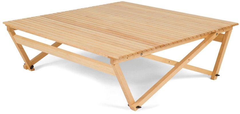 Model A6 Foldable Coffee Table By Jean Claude Duboys For Atude 1980s 1