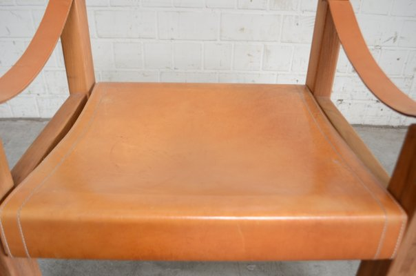 Miraculous Vintage Cognac Saddle Leather Chair By Pierre Chapo Creativecarmelina Interior Chair Design Creativecarmelinacom