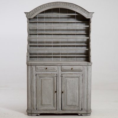 Antique Swedish 2-Part Armoire 1 - Antique Swedish 2-Part Armoire For Sale At Pamono