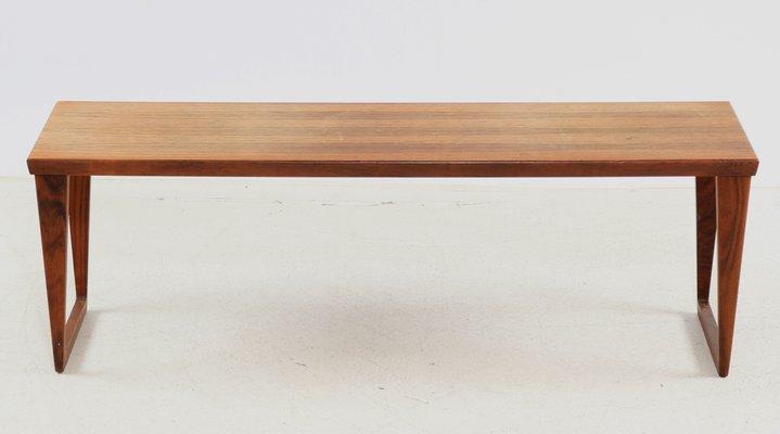 Table Basse Banc Modèle 36 Par Kai Kristiansen Pour Aksel Kjersgaard