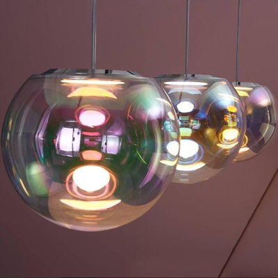competitive price de52b bb835 Iris Bubble Pendant Lamp by Sebastian Scherer