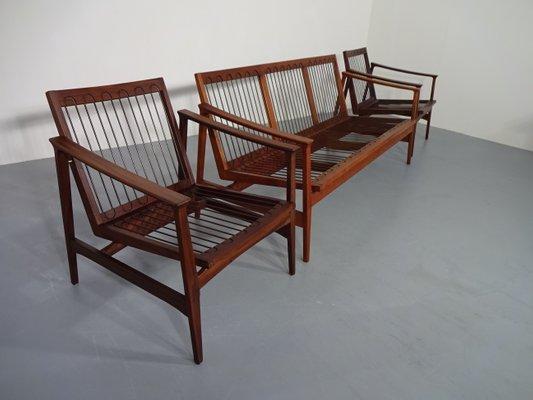 Fine Teak Sofa 2 Easy Chairs From Thonet 1950S Inzonedesignstudio Interior Chair Design Inzonedesignstudiocom