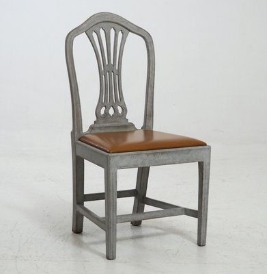 19th Century Gustavian Style Chairs, Set Of 8 1