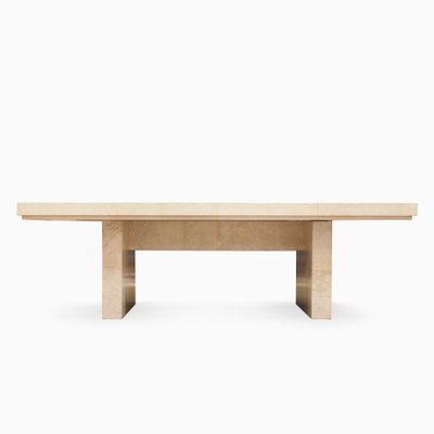 Bauhaus Dining Table By Karl Springer 1975 The Exceptional