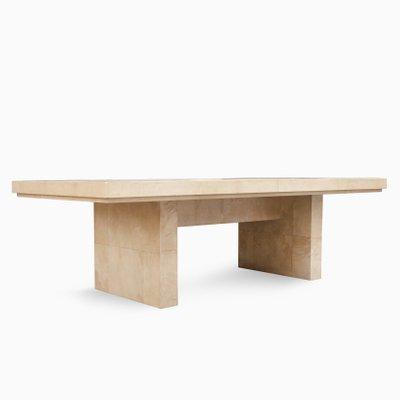 Bauhaus Dining Table By Karl Springer 1975 1