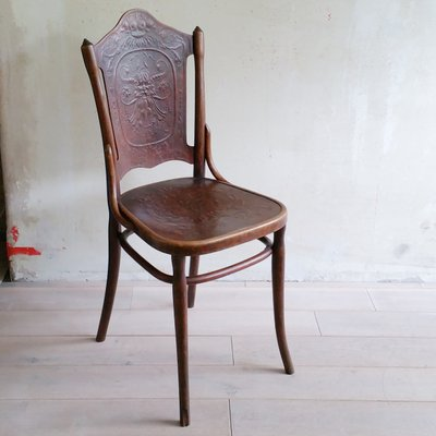 chaise de bureau ancien jacub et joseph kohn wien