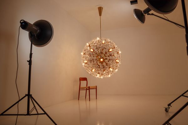 Kronleuchter Klein Xl ~ In berlin xl grosse bronze deckenlampe jugendstil lampe antik