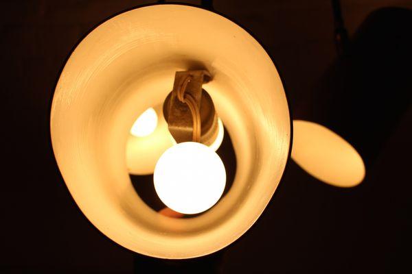 Moderne Lampen 14 : Moderne drehbare hängelampe 1950er bei pamono kaufen