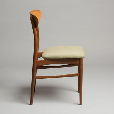 Exceptional Danish Mid Century Chairs, 1960s, Set Of 6 2