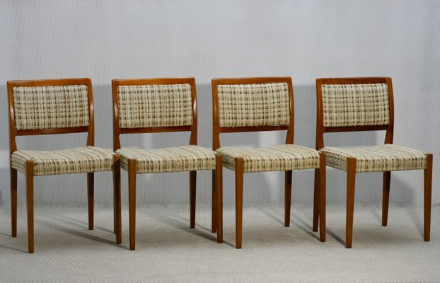 Mid Century Swedish Dining Chairs From Troeds 1960s Set Of 4 For