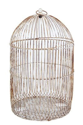 Large Antique Wire Frame Decorative Bird Cage For Sale At Pamono