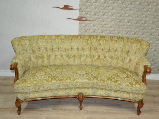 Excellent Large Vintage Chippendale 3 Seater Sofa Evergreenethics Interior Chair Design Evergreenethicsorg
