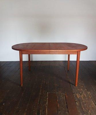 Mid Century Danish Teak Dining Table By Nils Jonsson For Troeds Bjarnum