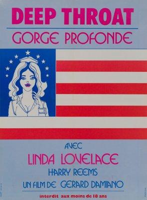 French Deep Throat Film Poster By Studio Lem 1975