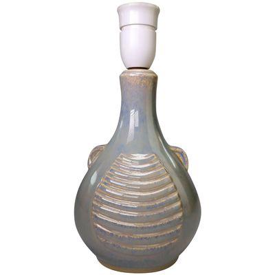 Model 1080 2 Danish Beige Ceramic Table Lamp By Einar Johansen For