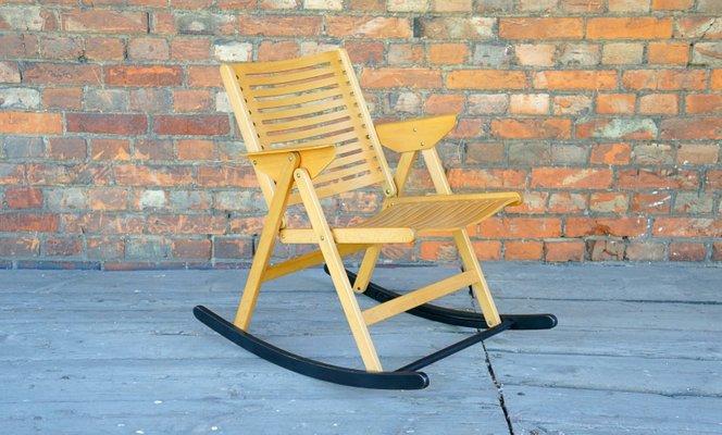 Enjoyable Rex Rocking Chair By Niko Kralj 1960S Andrewgaddart Wooden Chair Designs For Living Room Andrewgaddartcom