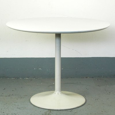 White Lacquered Coffee Table By Opal Möbel 1960s