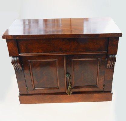 Small Antique Mahogany Cabinet 1 - Small Antique Mahogany Cabinet For Sale At Pamono