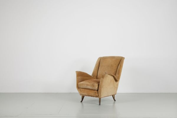 Wing Chairs From ISA Bergamo, 1950s, Set Of 2 1
