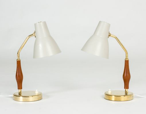 Table Lamps By Hans Bergstrm For ASEA 1950s Set Of 2 1