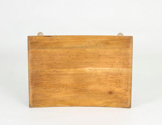 Sgabello in legno svezia anni 30 in vendita su pamono