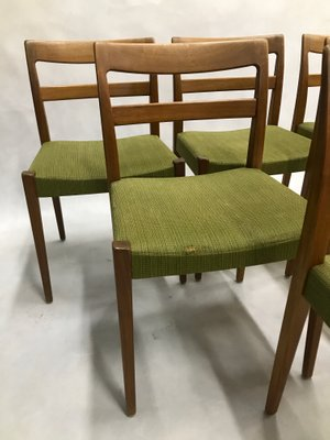 Vintage Swedish Chairs By Nils Jonsson For Troeds Bjarnum Set Of 6