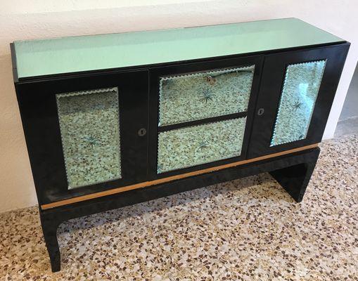 Italian Art Deco Bar Cabinet, 1940s 1