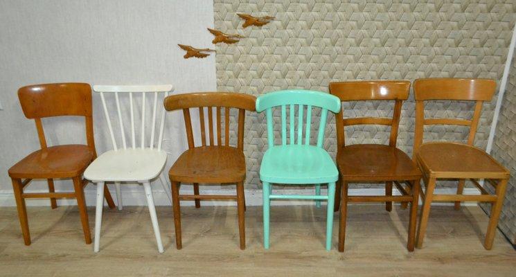 Sedie Da Cucina In Legno : Sedie da cucina in legno anni set di in vendita su pamono