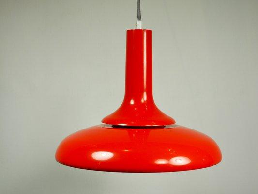 Lampada da soffitto vintage pop art rossa italia in vendita su pamono