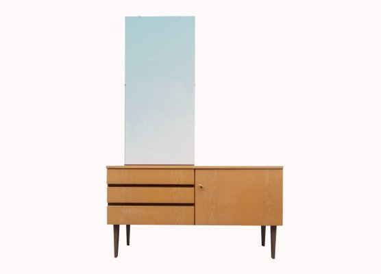 Ash Dressing Table With Mirror 1960s 1