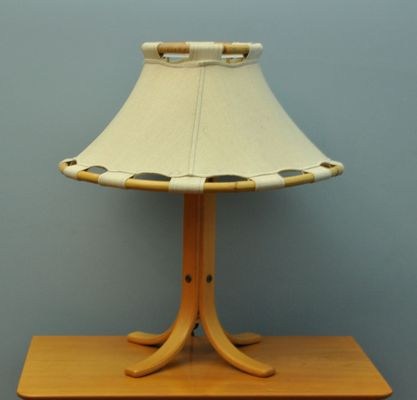 Vintage Table Lamp From Ateljé Lyktan 1