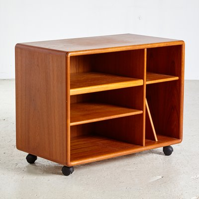 Small Danish Cabinet With Wheels From Dyrlund, 1960s 2