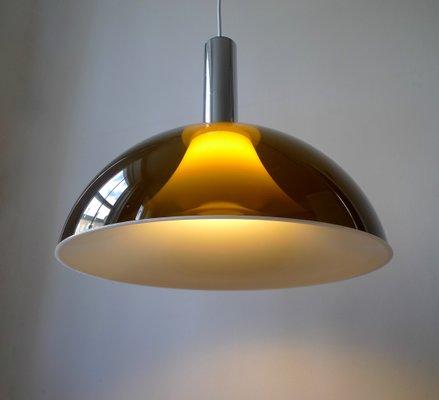 Italian E Age Pendant Light From Martinelli Luce 1960s
