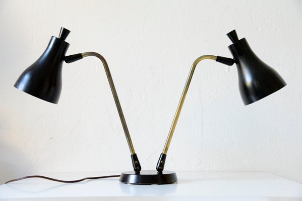 Gerald Double Lamp Table Lightolier1955 Thurston By For BeCxoWrdQ