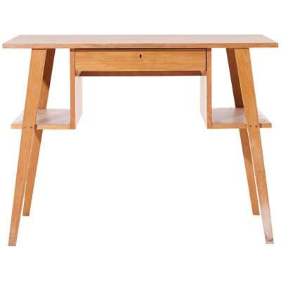 Mid Century Modern Birch Desk By Cees Braakman 1950s For Sale At Pamono