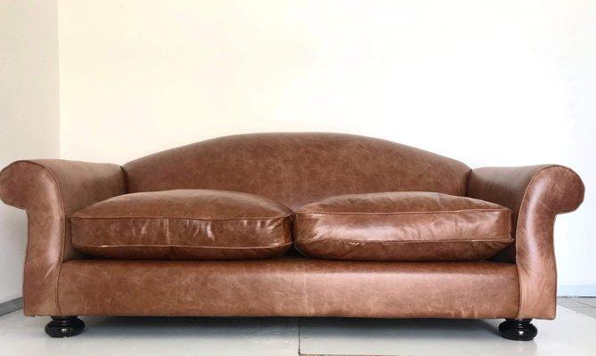 Italian Art Deco Sofa, 1930s