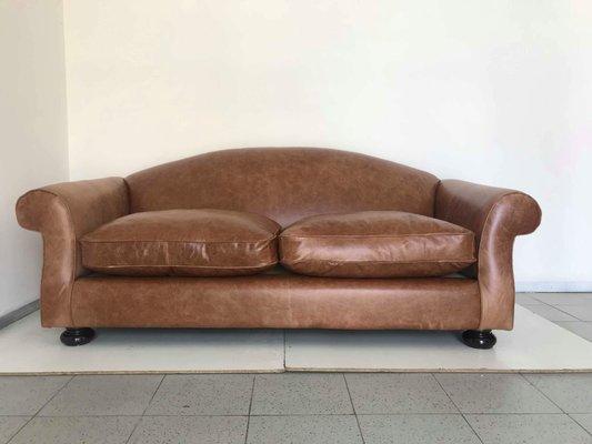 Italian Art Deco Sofa 1930s For